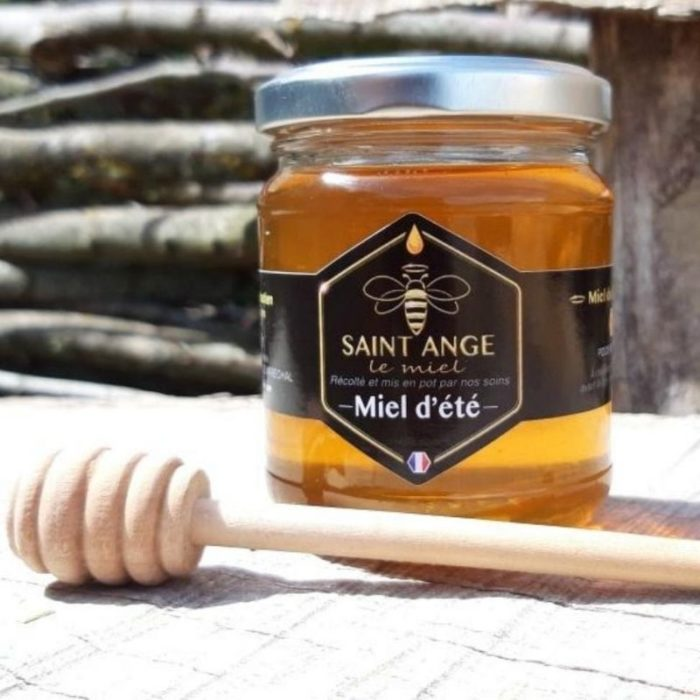 Pot de miel d'été